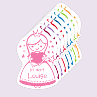 Sticker déco - Princesse